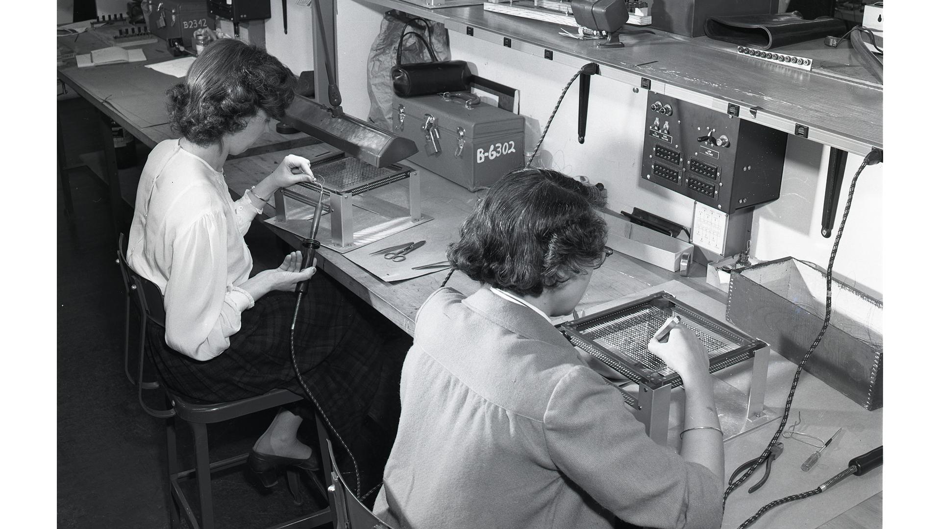Women Weaving RAM